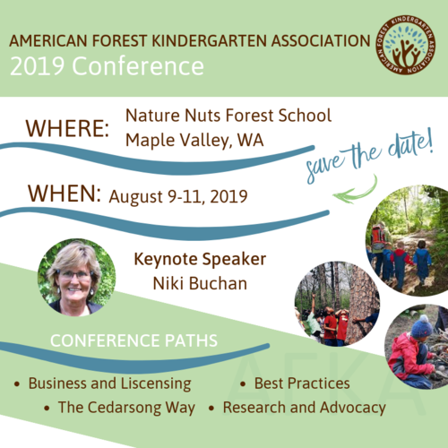 American Forest Kindergarten Association 2019 Conference | NAAEE