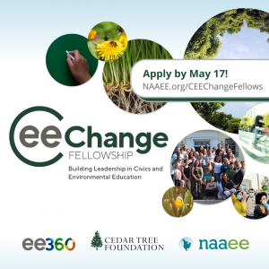 Apply by May 17! CEE-Change logo