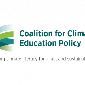 coalition for climate education policy logo
