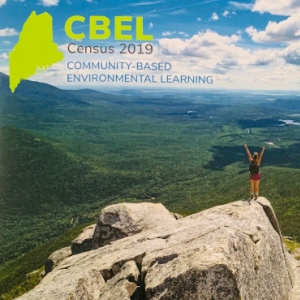 Cover of the Maine community based environmental learning Census.