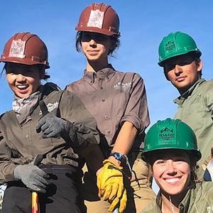 Conservation Corps team