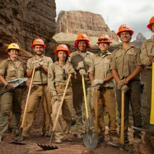Conservation Corps Crew members