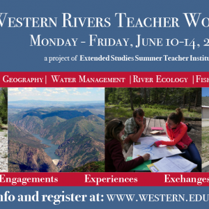 Western Rivers Teacher Workshops
