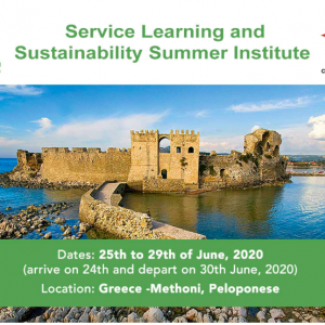 Service Learning and Sustainability Summer Institute