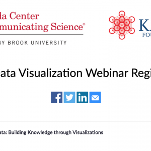 Storytelling with Data: Building Knowledge through Visualizations