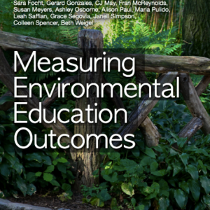 Cover of Measuring Environmental Education Outcomes