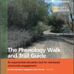 Phenology Walk and Trail Guide Cover