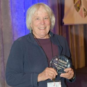 California Educator Kay Antunez Receives NAAEE's Highest Honor, the Walter E. Jetske Award, at NAAEE's 2015 Annual Conference in San Diego, CA.