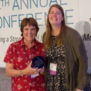 The Maine Environmental Education Association (MEEA) Receives NAAEE's Award for Outstanding Affiliate Organization at NAAEE's 2015 Annual Conference in San Diego, CA.