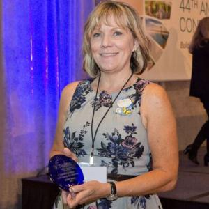 The S.C.R.A.P. Gallery Receives NAAEE's Award for Outstanding Service to EE by an Organization at the Local Level at NAAEE's 2015 Annual Conference in San Diego, CA.